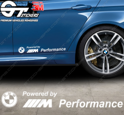 Stickers Powered by BMW M Performance