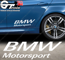 Stickers Powered by BMW Motorsport