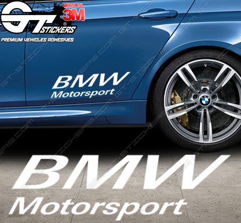 Stickers Powered by BMW Motorsport