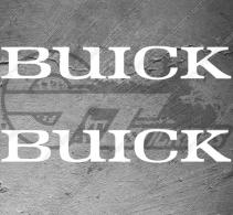 Stickers Logo Buick