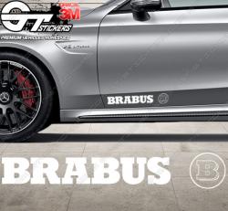 Stickers Brabus + logo