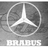 Sticker Brabus / Mercedes Line, taille au choix