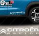 Stickers Citroën Racing, taille au choix