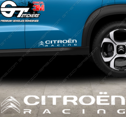 Stickers Citroën Racing Modern, taille au choix