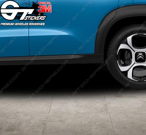 2 Stickers 207 Peugeot Sport Lion