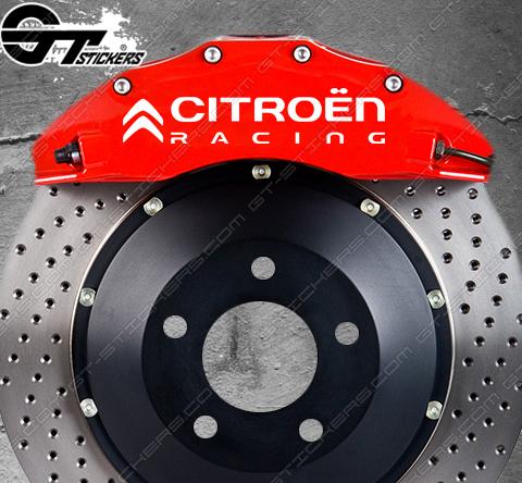 Kit stickers Citroën Racing pour étriers de frein.