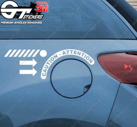 Kit Stickers Trappe Gasoil DS3 Racing - V1.00