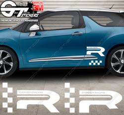 Kit Stickers Autocollants DS3 Racing Gold Mat spécial edt.