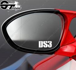 Stickers DS3 pour rétroviseurs