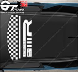 Kit Stickers de toit DS3 R (racing) Gold Mat Loeb edt.