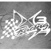 Stickers DS3 Race Flag