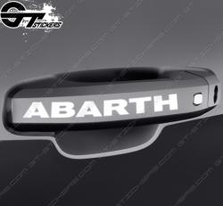 Kit stickers Abarth pour poignées de porte