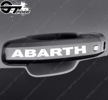 2x Stickers Abarth pour poignées de porte