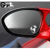3 Stickers Fiat Abarth pour rétroviseurs