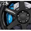 Kit 4x stickers Abarth pour jantes