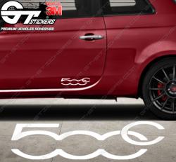 Sticker Sigle Fiat 500c