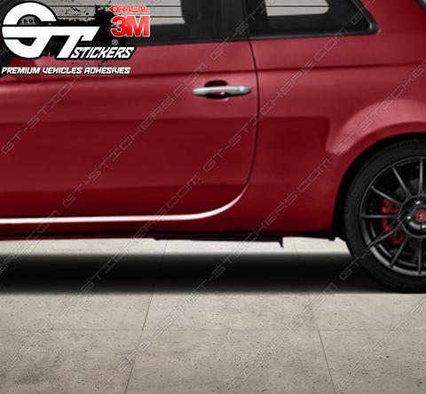 2 Bandes Bas de caisse Renault Sport Clio 3 RS 1750 mm