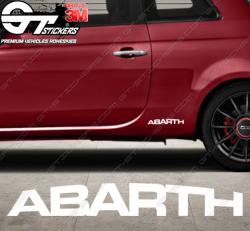 Sticker Abarth, taille au choix