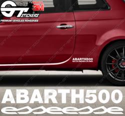 Sticker Sigle Fiat Abarth 500 Esseesse