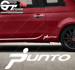 Sticker Sigle Fiat Punto