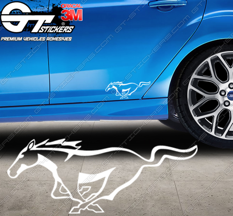 Stickers Ford Mustang