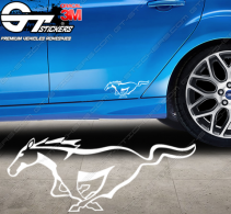Stickers Cheval Ford Mustang, taille au choix
