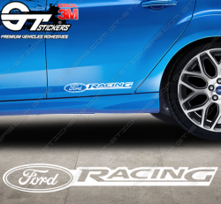 Sticker Ford Racing, taille au choix