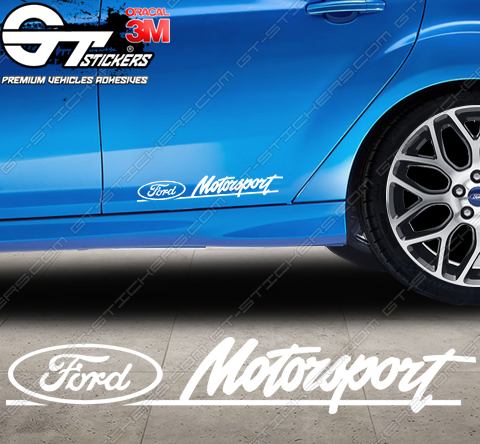 Sticker Ford Motorsport, taille au choix