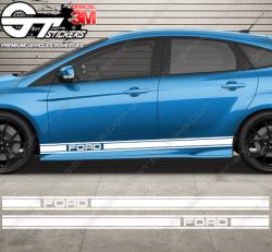 Kit bandes latérales Ford Rallye Straight
