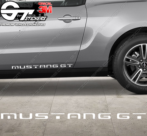 Sticker Ford Mustang GT, taille au choix