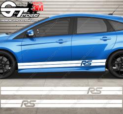 Kit bandes latérales Ford RS