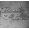 Sticker logo Ford ovale, taille au choix