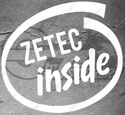 Sticker logo Ford Zetec inside, taille au choix