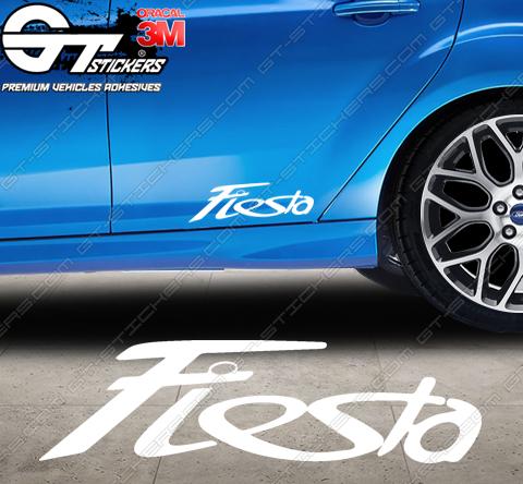 Sticker logo Ford Fiesta, taille au choix