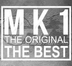 Sticker logo Ford MK1 Original, taille au choix