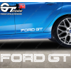 Sticker Ford GT, taille au choix
