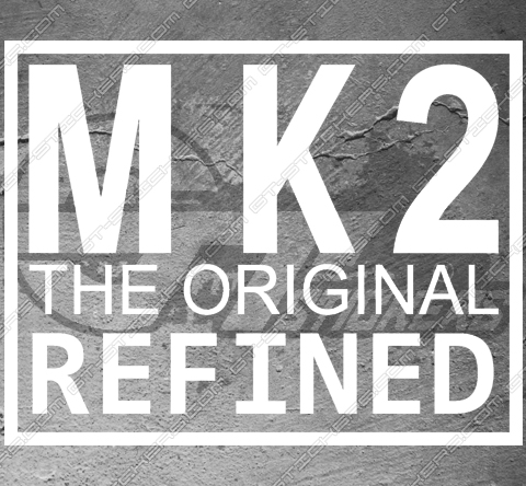 Sticker logo Ford MK2 Original, taille au choix