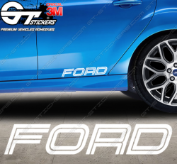 Sticker Ford Racing Style, taille au choix