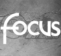 Sticker logo Ford Focus, taille au choix