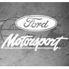 Sticker logo Ford Motorsport Topview, taille au choix
