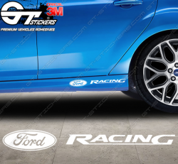 Sticker Ford Racing Rallye, taille au choix