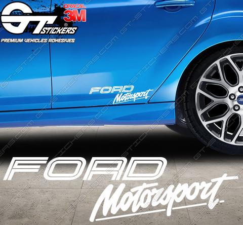 Sticker Ford Motorsport Line, taille au choix