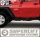 Stickers Jeep Superlift, taille au choix