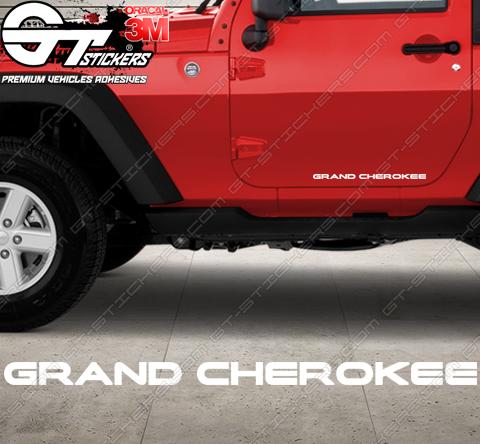 Stickers Jeep Grand Cherokee