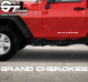 Stickers Jeep Grand Cherokee, taille au choix