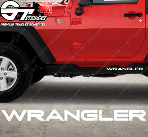 Stickers Jeep wrangler