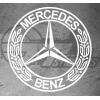 Sticker Mercedes Luxury, taille au choix