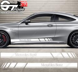 kit bandes latérales Mercedes Racing