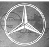Sticker Mercedes Sharp Design, taille au choix
