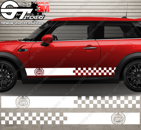 kit bandes latérales Mini Cooper Crown
